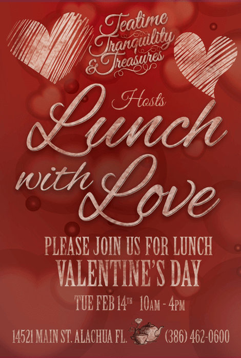 LUNCH WITH LOVE Valentine's Day Special