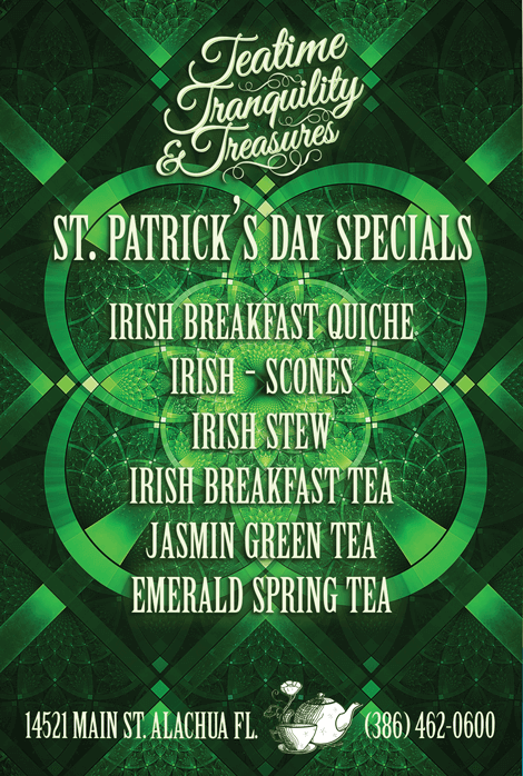 St Patrick's Day Specials