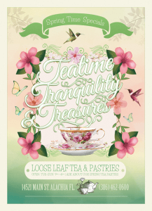 TeatimeTranquility Spring Time Specials